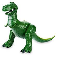 """Disney Истории игрушек Говорящий динозавр Рекс 2019 Talking Rex Toy Story Deluxe 12"""""""