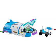 Disney Истории игрушек 4 Базз в космосе звездолет GJB37 Toy Story Star Command Spaceship Pixar Playset