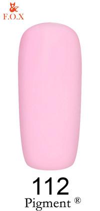 Гель-лак F.O.X Pigment 112, 12мл