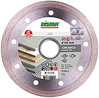 Круг алмазный Distar 1A1R Bestseller Ceramics 3D 125мм, отрезной диск по керамической плитке на УШМ, Дистар