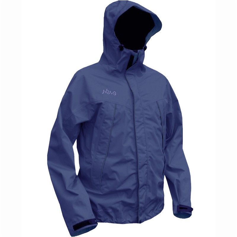 Мембранная штормовая куртка NEVE SPIRIT синяя