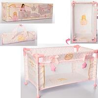 Манеж-кроватка для куклы DeCuevas Мария 50028