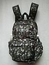 Мужской рюкзак Dolphin Line с пиксельным камуфляжным принтом милитари. Легкий, моющийся, немаркий!, фото 3