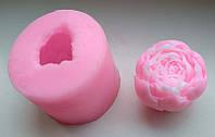 Молд Бутон пиона силиконовый форма формочка для мыла воска свечей шоколада 3D заготовка