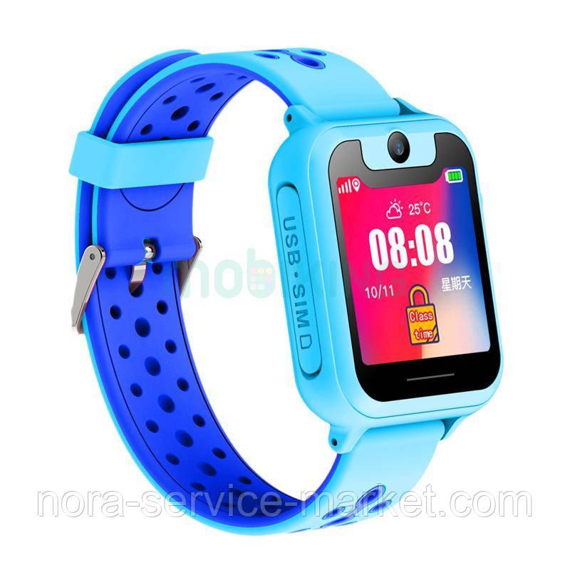 Дитячі розумні годинник з GPS трекером SK-008/MT-01/MT-02 Blue