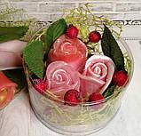 Набор мыла розы №4, фото 2