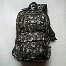 Мужской рюкзак Dolphin Line с пиксельным камуфляжным принтом милитари. Легкий, моющийся, немаркий!, фото 2