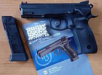 Выбор чемпионов IPSC - страйкбольный пистолет CZ75 SP-01 SHADOW, Дания
