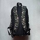 Мужской рюкзак Dolphin Line с пиксельным камуфляжным принтом милитари. Легкий, моющийся, немаркий!, фото 6