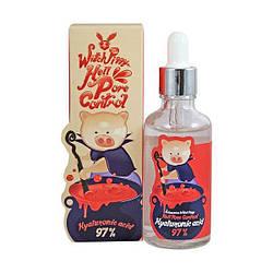 Корейская Сыворотка для лица с гиалуроновой кислотой Witch Piggy Hell Pore Control Hyaluronic Acid 97%, 50мл
