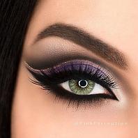 Цветные линзы для глаз Green Купить недорого в Украине. Интернет-магазин цветных линз для глаз!