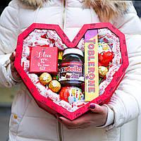 """Подарочный набор """"Любимой"""". Вкусный подарок на 8 марта девушке, жене, женщине, любимой, маме."""