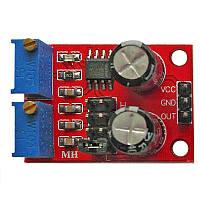 Генератор прямокутних імпульсів на NE555 з регулюванням частоти і шпаруватості - Розпродаж