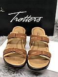 Шлепанцы из натуральных материалов, новые бренд trotters, фото 4