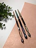 Пинцет обратный для зажима арки ногтей и лопатка-пуше, 2в1, фото 4