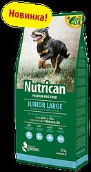 Корм Nutrican Junior Large Нутрікан Юніор Лардж для цуценят  великих порід 15 кг