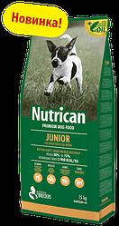 Корм Nutrican Junior Нутрікан Юніор для цуценят всіх порід 15 кг