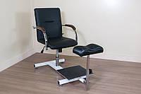 Педикюрное кресло Mebel Studio ПК 1 черное (00203)