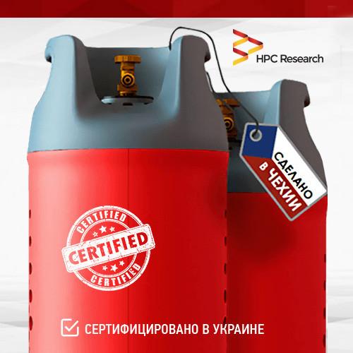 Композитний балон газовий 24,5 л Чехія