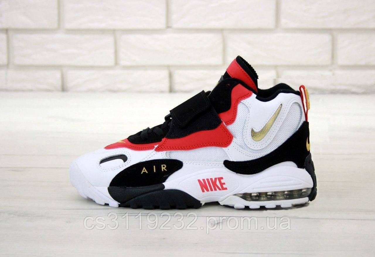 Мужские кроссовки Nike Air Max Speed Turf (белый/красный/черный)