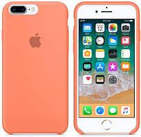 Чехол Silicone Case Apple iPhone 7 Plus, iPhone 8 Plus Персиковый