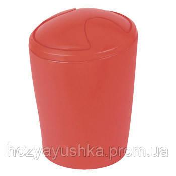 Ведро для мусора Spirella MOVE (красный) 10.09598