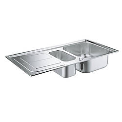 Hабор Кухонная мойка Grohe EX Sink 31565SD0 K300 + смеситель Eurosmart 33281002