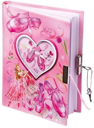 Дневник маленькой балерины с замочком