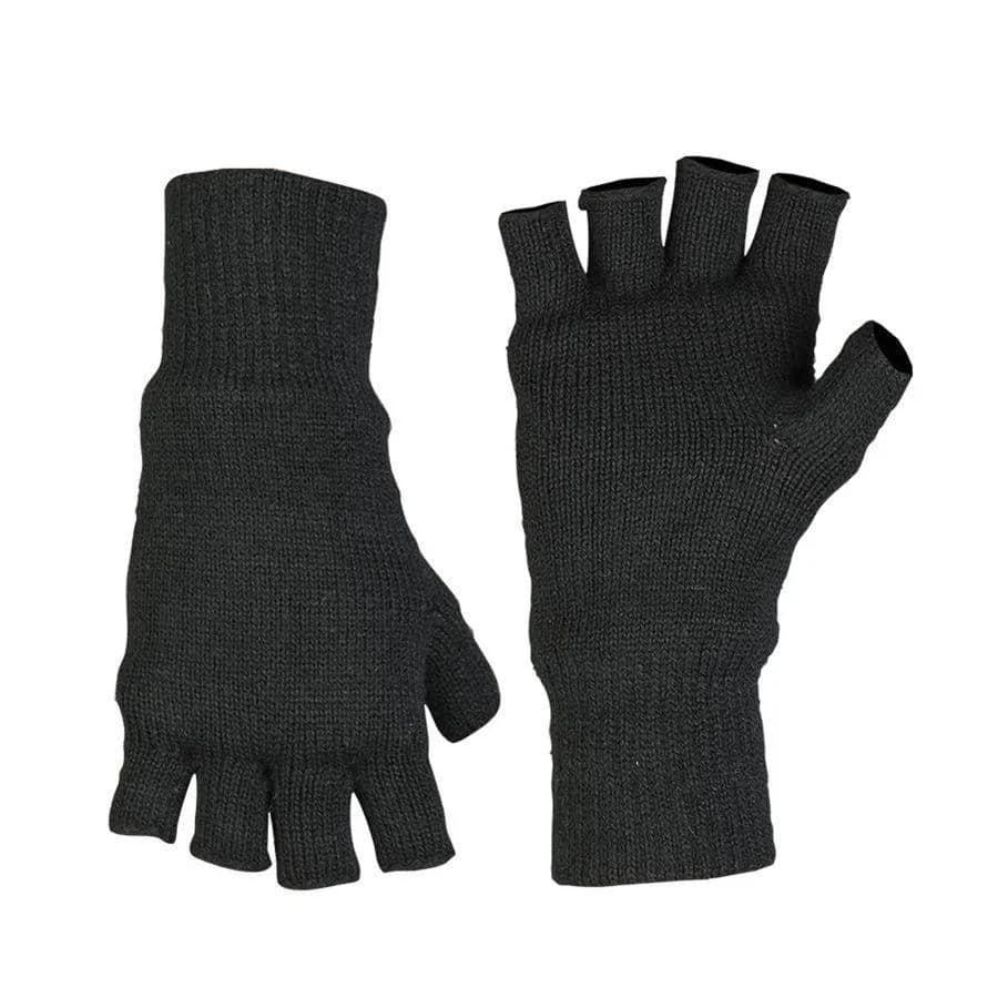Беспалые вязаные перчатки Mil-Tec на утеплителе Thinsulate
