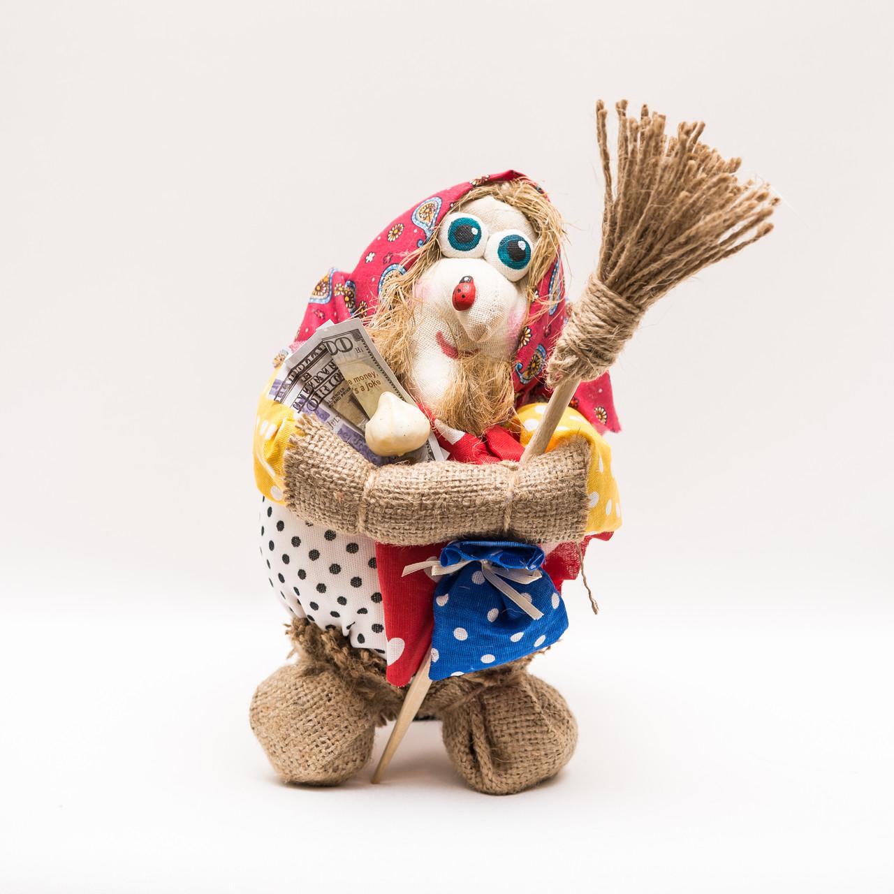 Текстильная кукла (мешок) Баба Яга 25-30 см
