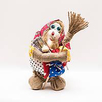 Текстильная кукла (мешок) Баба Яга 25-30 см, фото 1