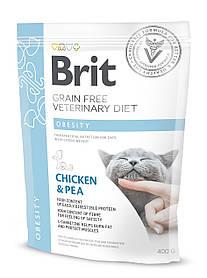 Лечебный корм для кошек Brit Veterinary Diets Cat Obesity при избыточном весе 400 г