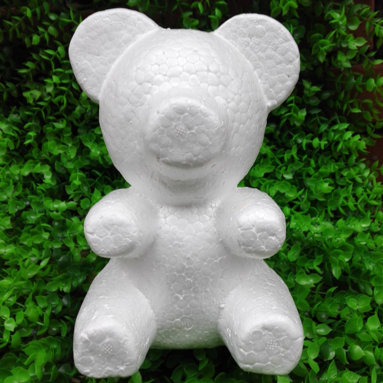 Заготівля пінопластовий ведмідь 20 см