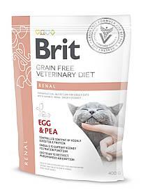 Лечебный корм для кошек Brit Veterinary Diets Cat Renal при хронической почечной недостаточности 400 г