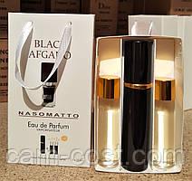 Подарочный набор 3в1 с феромонами NASOMATTO Black Afgano