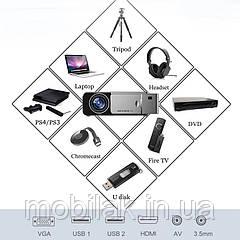 Everycom T6 светодиодный видеопроектор