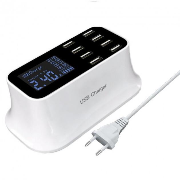 Зарядное устройство на 8 USB портов Smart Charge CD-A19