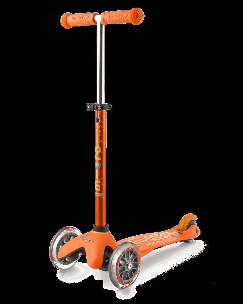 Самокат Mini Micro Deluxe Orange (Оранжевый)