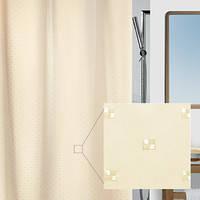 Шторка для ванной текстильная Spirella RICCO бежевая 10.43815