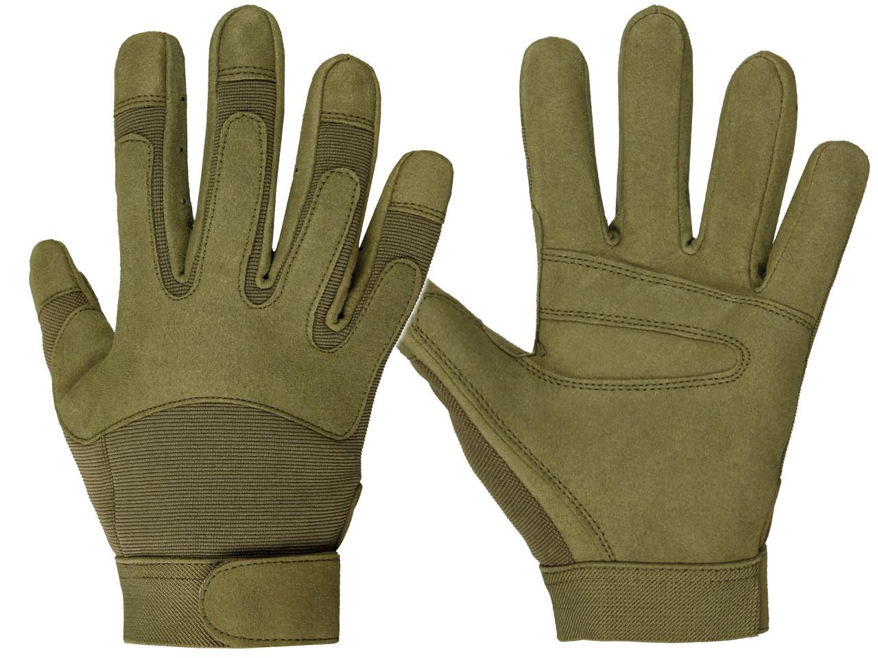 Тактические защитные перчатки  Mil-tec Army Gloves койот