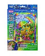 Набор креативного творчества Dankotoys CRYSTAL ART KIDS CArt-01-10 Сова TOY-101260, КОД: 1323530