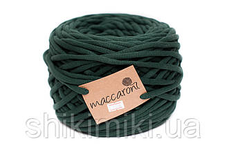 Трикотажный шнур Cotton Filled 8 mm, цвет Хвоя