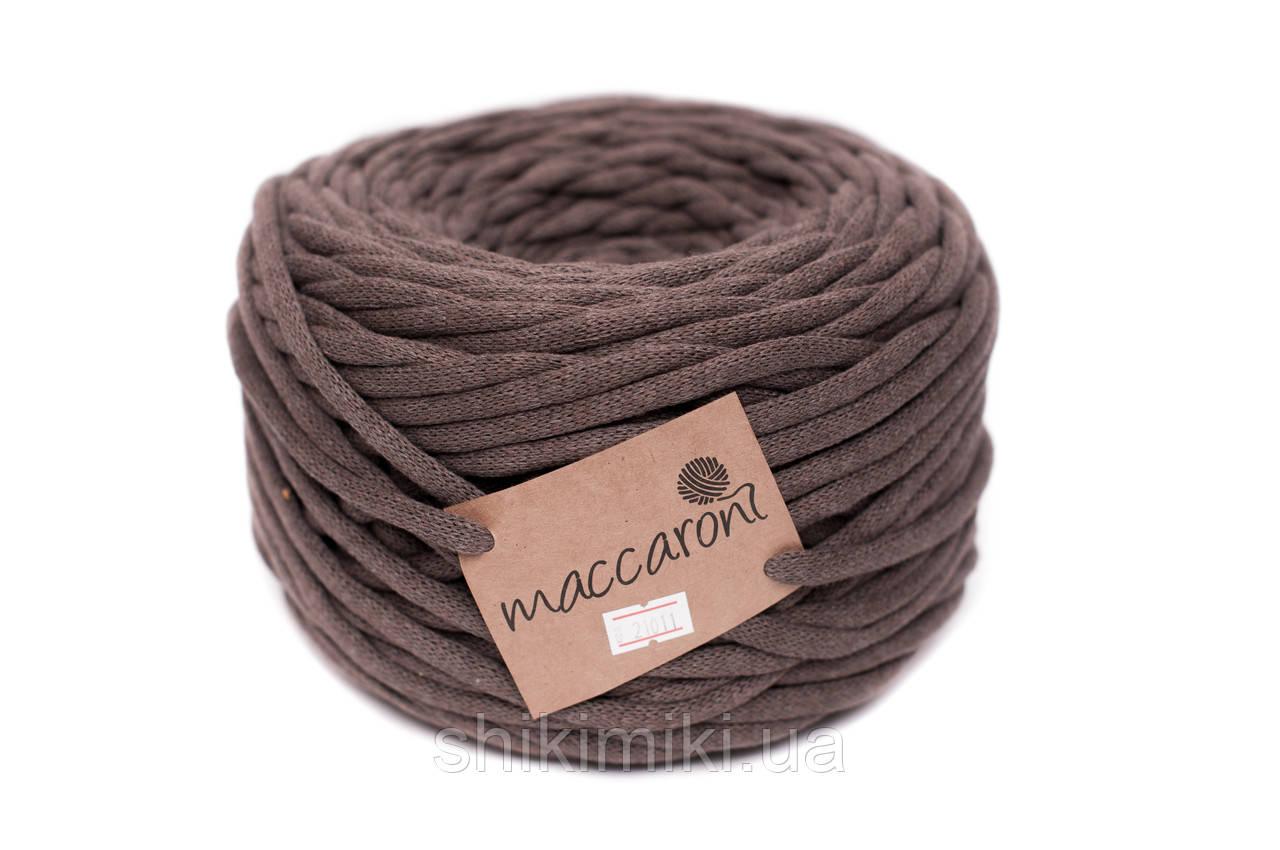 Трикотажный шнур Cotton Filled 8 mm, цвет Какао