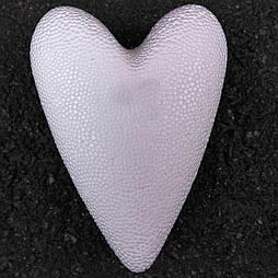 Сердце пенопластовое 3D 11 см.