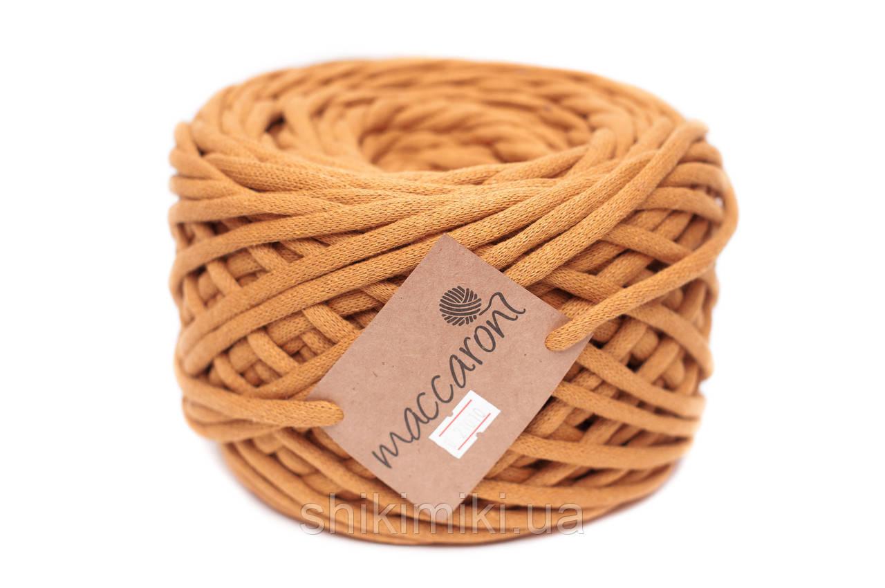 Трикотажный шнур Cotton Filled 8 mm, цвет Горчичный