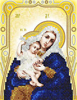 """Схема на ткани для вышивки """"Икона Божией Матери Покрывающая"""""""