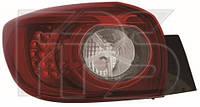 Фонарь задний внешний левый Mazda 3 BM '13- хетчбек (Depo)  B45D51160B