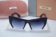 Солнцезащитные очки Миу Миу 9126 чёрые. ., фото 1