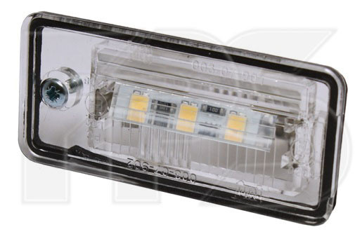 Фонарь подсветки номера Audi A4 B6 (01-04) левый+правый LED (FPS) 8E0807430A
