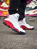 Баскетбольные кроссовки Jordan 13 белые в стиле джорданы